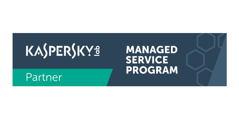 Logo Kaspersky Managed Partner
